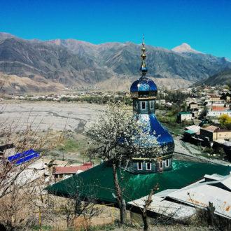 Реставрация Джума-мечети в с.Ахты