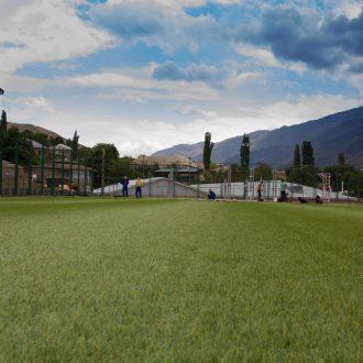 Стадионно-спортивный комплекс в с. Хрюг запущен