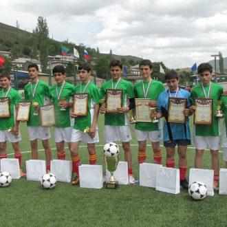 Межрайонный турнир по мини-футболу — 2016