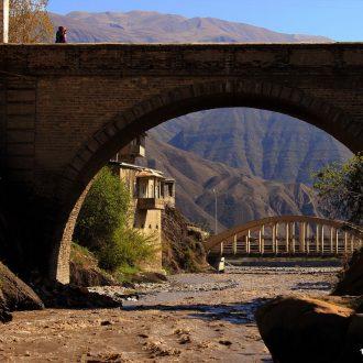 Реставрация Ахтынского арочного моста
