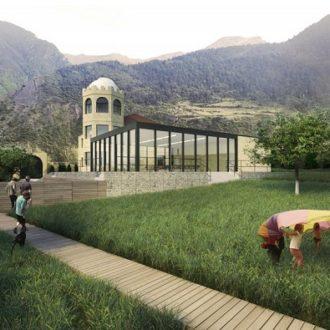 Фонд начал строительство первого центра просвещения для детей