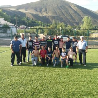 Стадион в Зрыхе принял первых посетителей